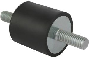 K0566 Виброизоляторы резинометаллические, наружная резьба